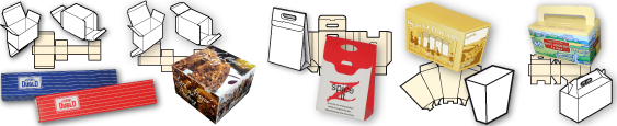 Redburne Printers and Box Makers Multi Style Boxes